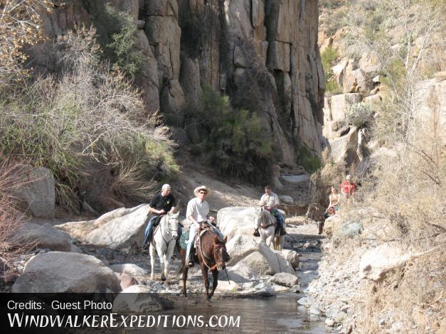 Ross in Box Canyon