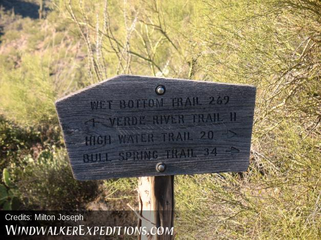 Verde river trail