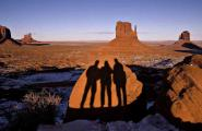 Three Amigos in Monument Valley, Arizona