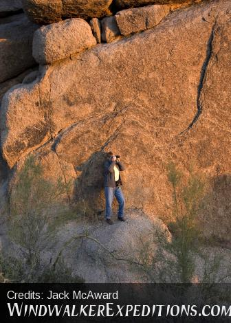 Superstition Loop Photography Workshop. Granite and Gal