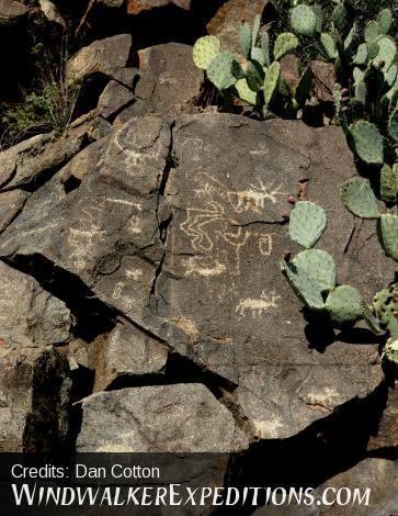 Prehistoric rock art