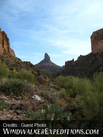 Weavers Needle in Superstitions