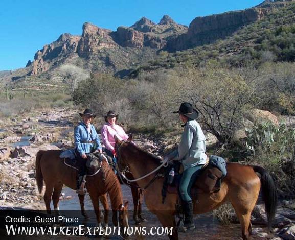 Arizona riding vacation