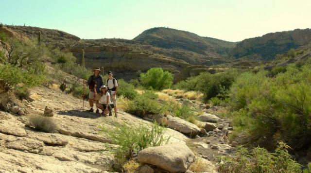Backpacking in Arizona